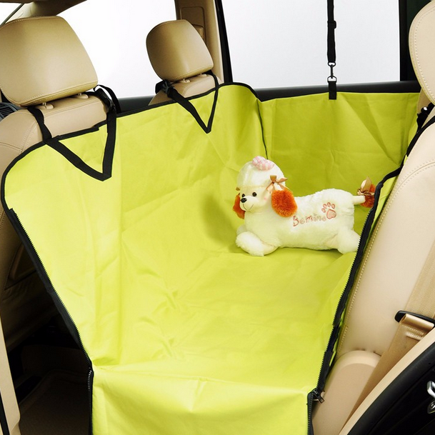 Ontworpen waterdicht polyester oxford back auto pet seat cover