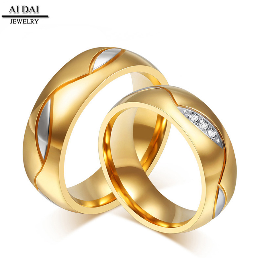 brilliant item simulated stones wedding yellow rings style diamond round newest fashion gold cut ring