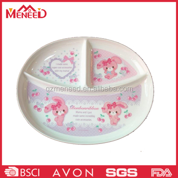 3 sections food safety melamine ided lunch plate  sc 1 st  Alibaba & 3 Sections Food Safety Melamine Divided Lunch Plate - Buy Melamine ...