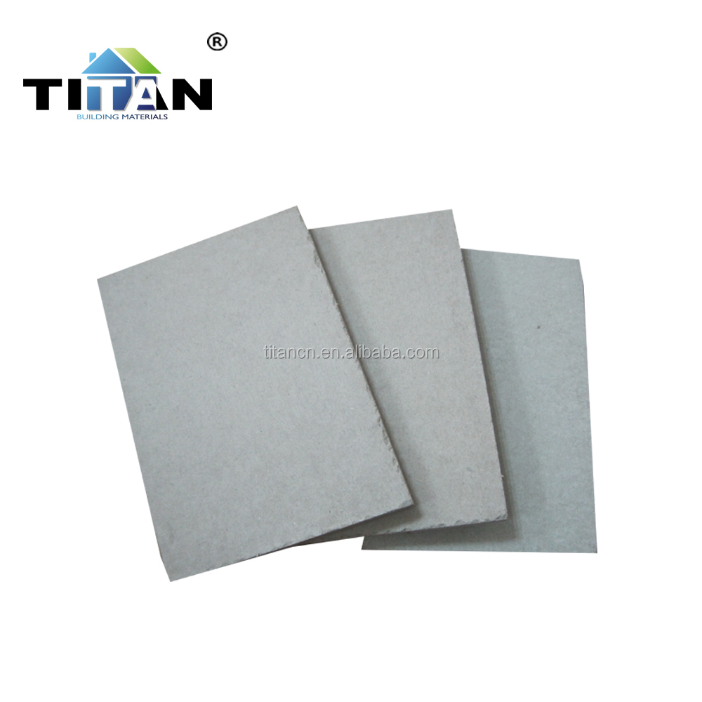 Decorative Interior Cement Wall Board Fiber Cement, Concrete Board
