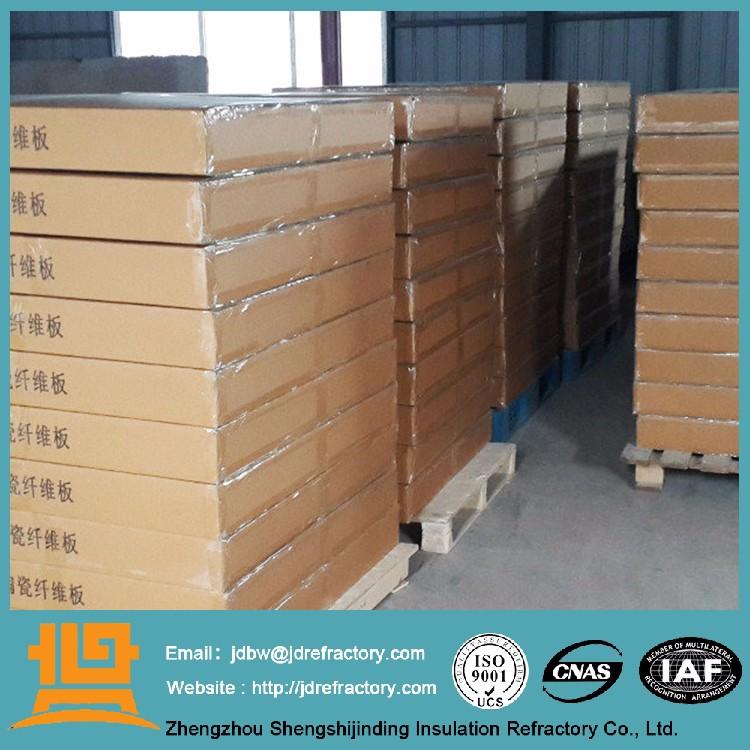 Fireplace Baffle Thermal Insulation Board Ceramic Fiber Board ...