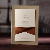 CW2043 Wedding Invitation Card European design paper crafts