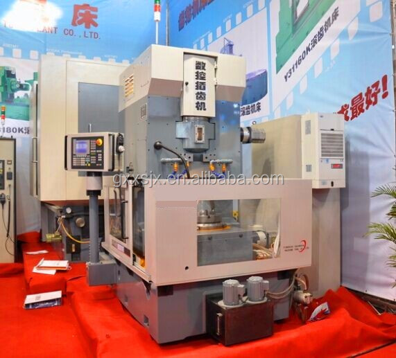 CNC Gear Making Machine with High Speed gear hobbing machine Y5150K