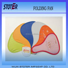 folding disc Style foldable nylon frisbee fan