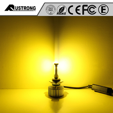 FS05 LED Car Headlight Dual Beam Yellow/White In One Bulb color changing led interior car light