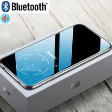 RUIZU D16 Del Metallo di Bluetooth MP3 Lettore Audio Portatile 8 GB Giocatore di Musica con Built-In Speaker Radio FM, Registratore, e-book, Lettore Video