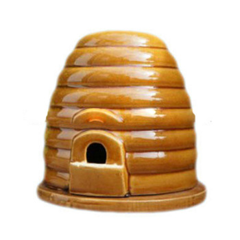Perfect promotional ceramic honey comb for garden decor