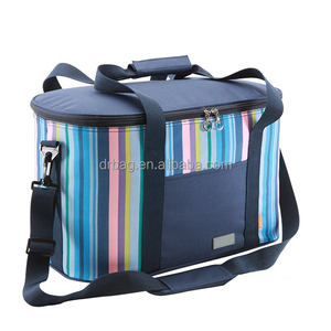 25L Large Single Shoulder Cooler Bags Ice Cream Bag Insulated Up To 4 Hours