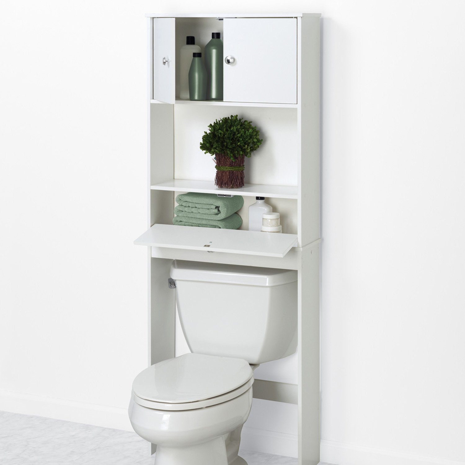 Uk Style White Bathroom Over The Toilet Space Saver Storage Cabinet   Buy  Over The Toilet Space Saver Cabinet,Over Toilet Organizer,Over Toilet ...