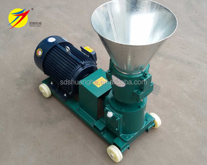 Hot sale home use small animal feed pellet making machine ,output 60-200kg/h