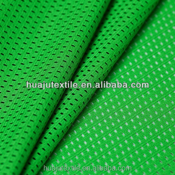 100% polyester mesh fabric for making garments hooding