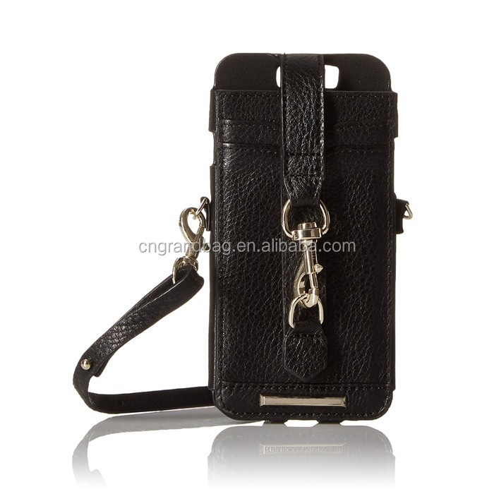 1fa6d9cac36 Genuine Leather Crossbody Sleeve Phone Wristlet With Strap Phone Case - Buy  Cell Phone Wristlet,Cell Phone Wallet Wristlet,Wristlet Purse Wallet ...
