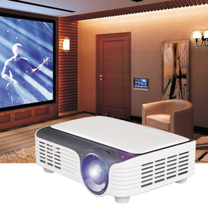 New Arrival CRE X2001 LCD Full HD Native 1280x1080p Projector 2000 Lumens Android 7.1 LED Home Movie Projector