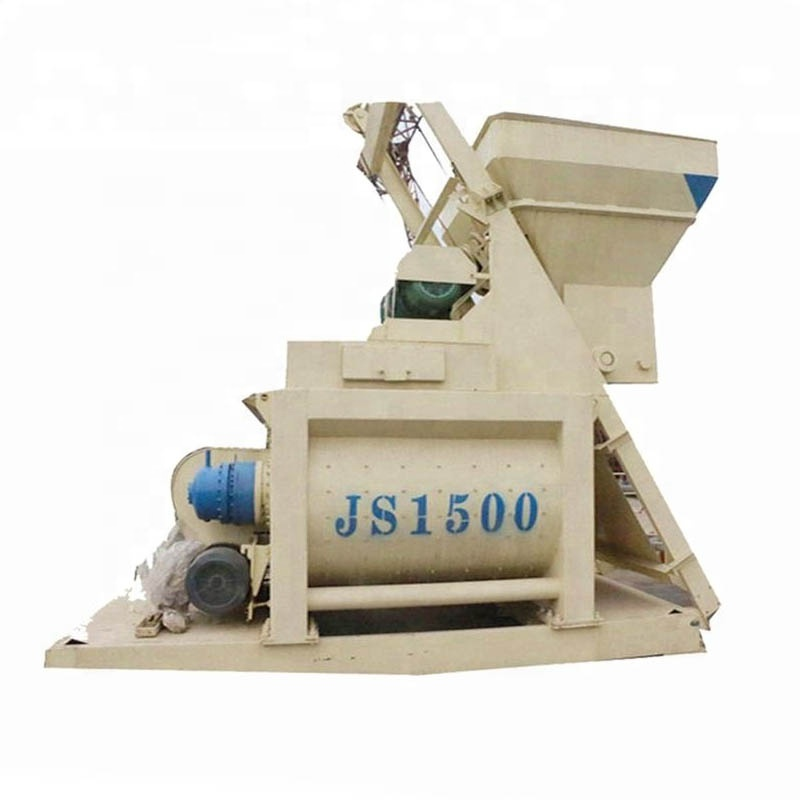 China 1.5m3 twin as automatische machine beton mixer
