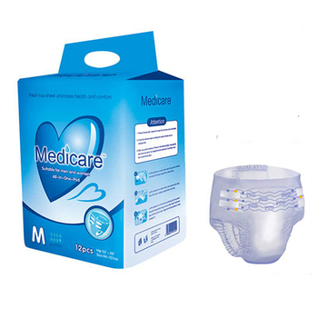 Adult Diaper Product Wholesale Disposable Wetness Indicator Adult Diapers with Free Sample Packs(Moq:20Ft Containers)