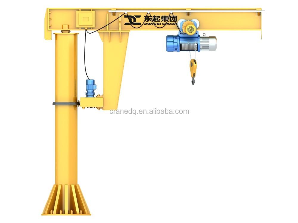 Bz 3 5 Ton 360 Degree Electric Hoist Rotating Drawings Floor Pillar Mounted  Slewing Manual Design Calculation Jib Crane Price - Buy Jib Crane,Jib