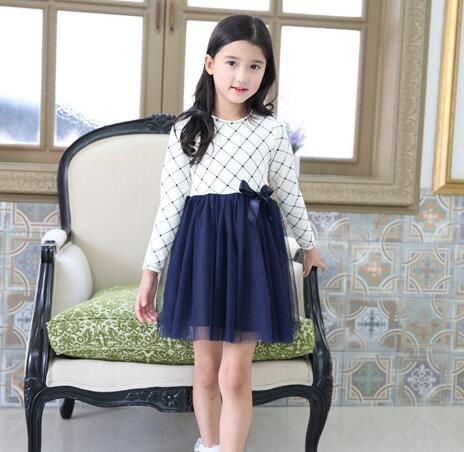 Новые модели платьев для девочек