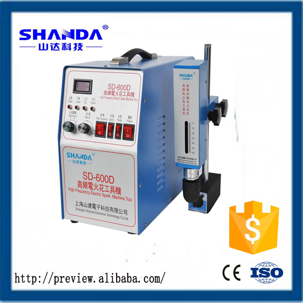 Shanda cnc drill and tapping machine good selling