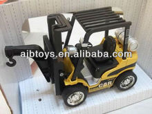 alloy model push back car toy with IC