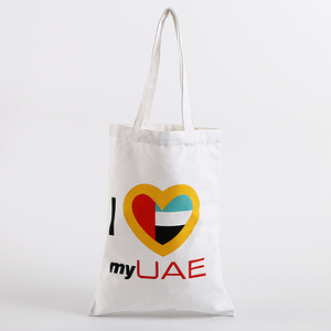 China Custom logo wholesale printed organic cotton canvas promotional tote bag