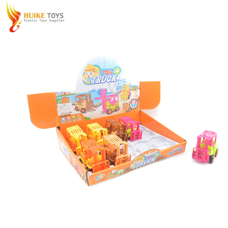 Toys 2018 Cheap Plastic Cartoon Friction Cars with Certificate EN71