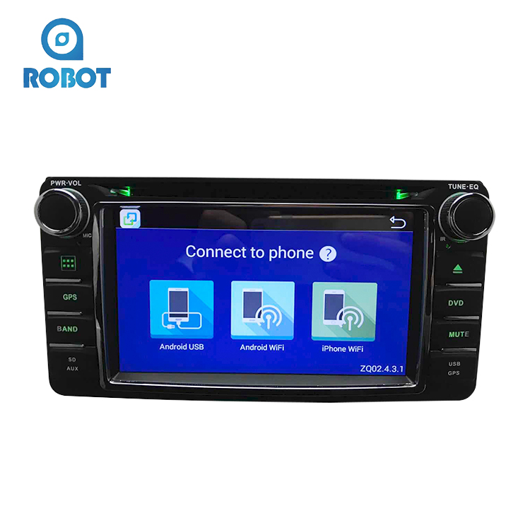 Chinese Manufacturer Touch Screen Multimedia Entertainment System Car Stereo USB SD