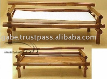 Daybed Bamboo Rustic Buy Bench Product On Alibaba Com