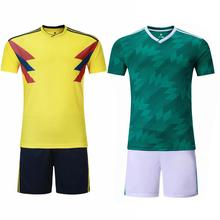 Selezione del <span class=keywords><strong>calcio</strong></span> jersey 2018 All'ingrosso <span class=keywords><strong>uniforme</strong></span> <span class=keywords><strong>di</strong></span> <span class=keywords><strong>calcio</strong></span> set