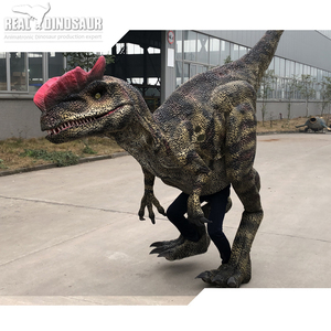 2019 walking with the lifelike adult dinosaur costume
