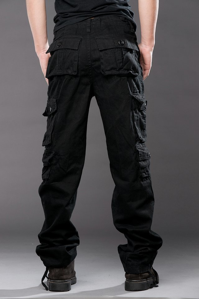 Product Features Solid cargo and camouflage pants for men, it also can be unisex.