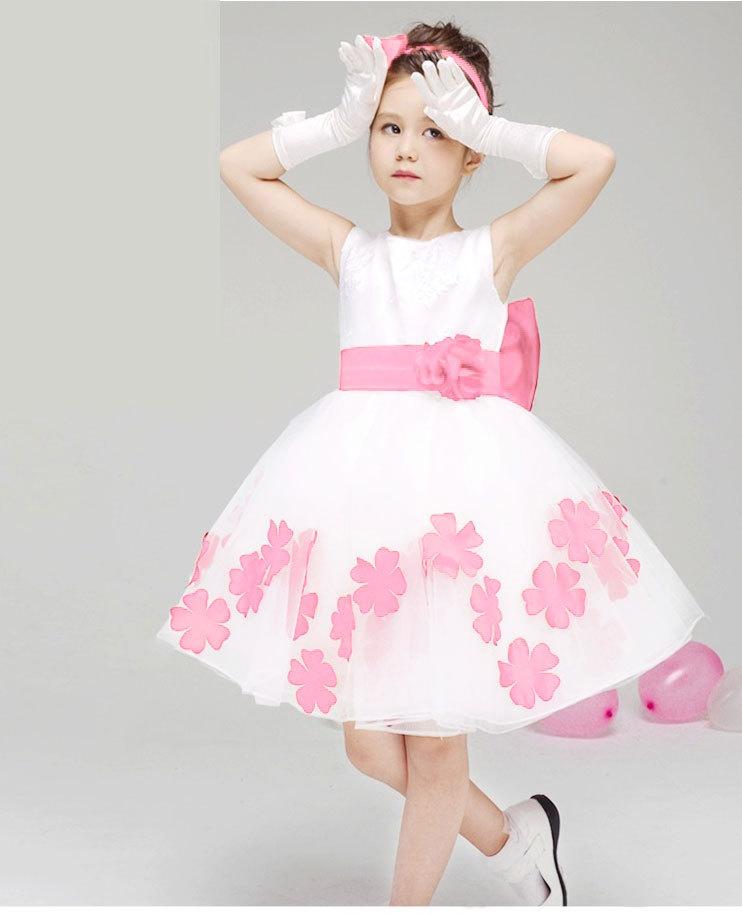 Bestdressus Girls Baby Princess Party Flower Party Evening
