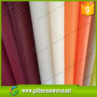 Good quality recycled pet spunbond nonwovens fabric/pp spun bonded non woven fabric textiles with private brand