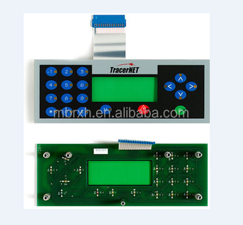 membrane switch with PCB assembly