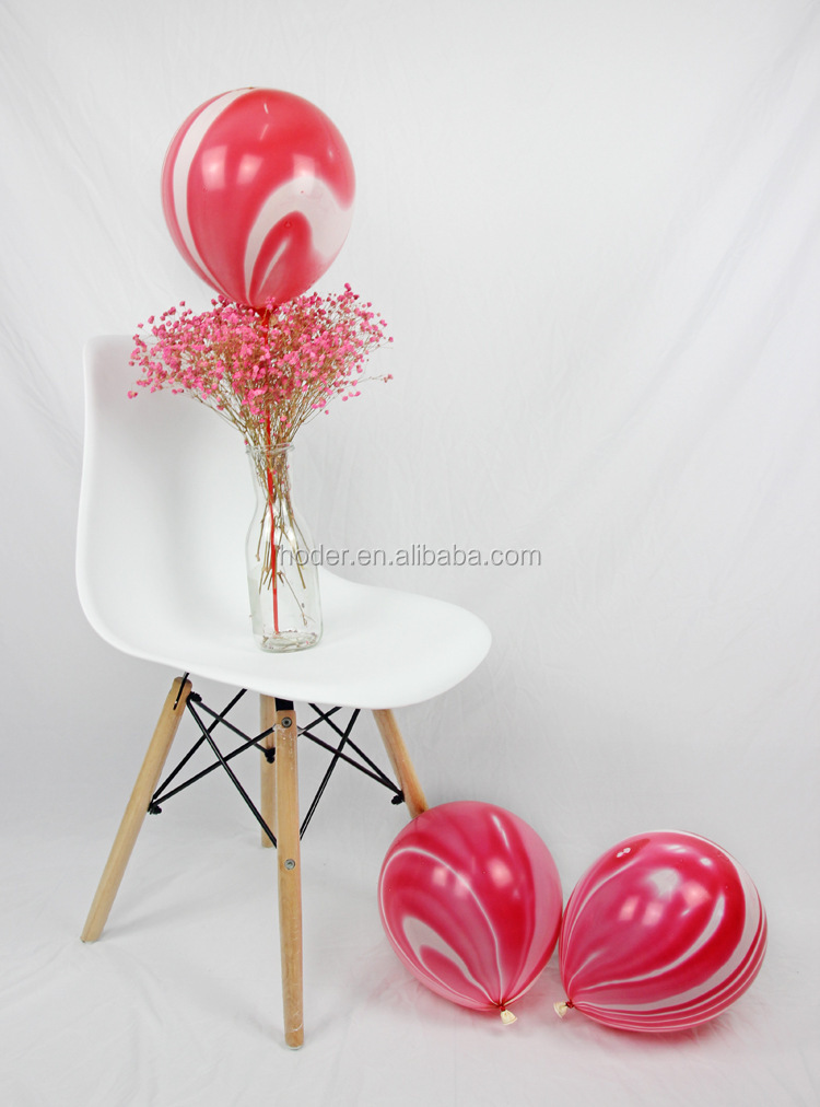 2018 new arrival ballon 10 inch 12inch 3.2g marble round shape latex balloon in china yiwu