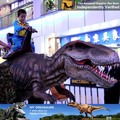 My-dino high simulation dinosaur ride for mall