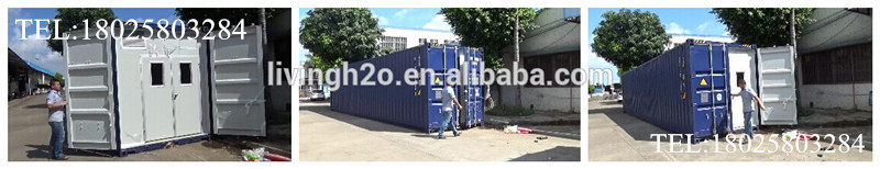 Containerized Drinking Water Production Plant