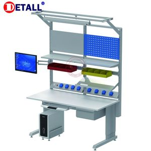 Detall industrial workstations for factory used