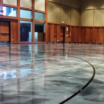 Maydos Epoxy Seal Slate Gray 5 Gal Concrete And Garage Floor