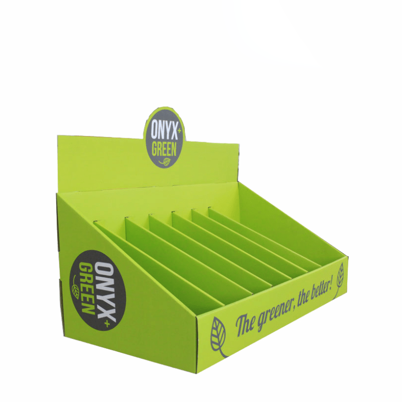Wholesale Corrugated Perforated counter top small  Display Box