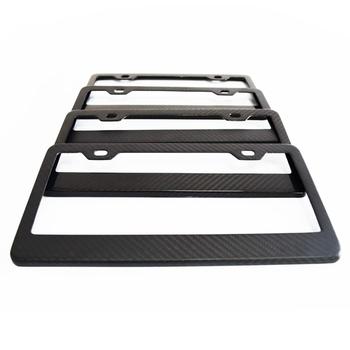 Carbon Fiber License Plate Frames,Custom Car Number Plate Frames ...