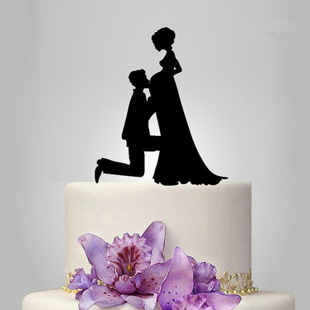 Buy Bride and Groom Golf Wedding Cake Topper - Funny Golf Wedding ...