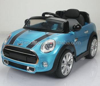 Kids Plastic Speelgoed Mini Cooper Licentie Auto Meisjes Rijden Op