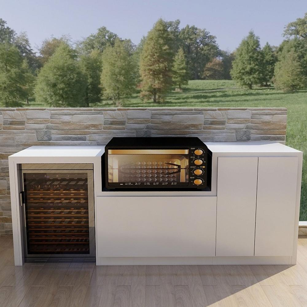 Heat and moisture resistant Australia outdoor BBQ kitchen <strong>cabinet</strong>