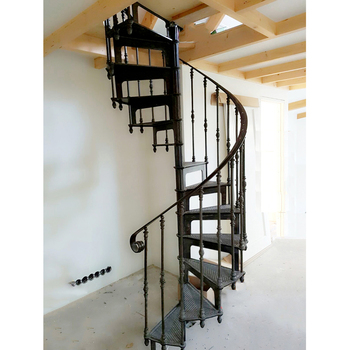 Luxury Decorative Exterior Spiral Staircase Used Spiral Staircase Model 1895