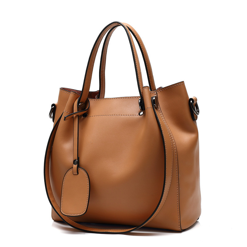 RICHMILAN---2017 luxury lady office handbag women genuine leather handbag  wholesale--