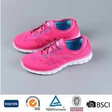 New arrival China hot sale cheap outdoor light weight colorful traval best rated female running shoes