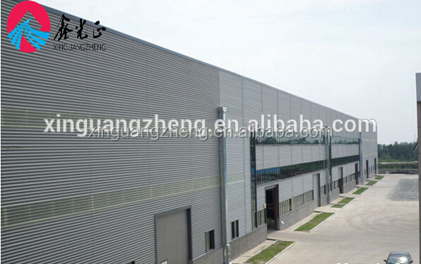 prefabricated light building 2 floor steel structure office warehouse