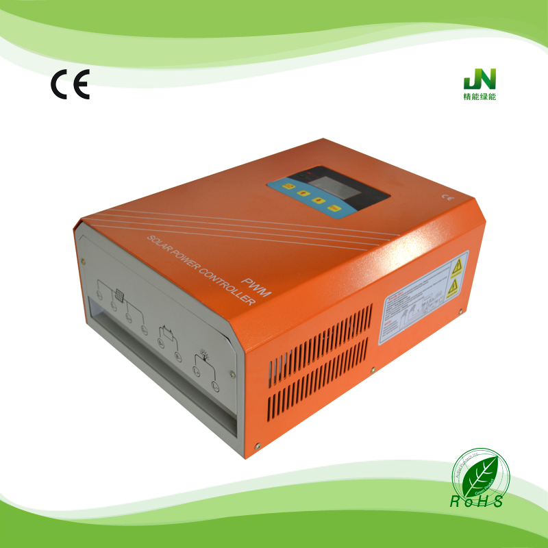 china price high efficiency 50a 10kw mppt solar charge controllers with timer RS232 communication interface for solar panel