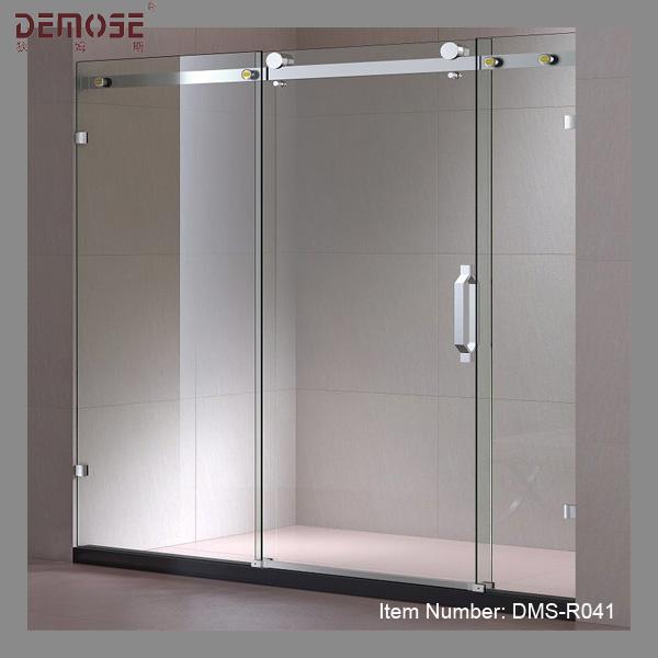 charni res de porte coulissante en verre sans cadre quincaillerie pour le salon salle de douche. Black Bedroom Furniture Sets. Home Design Ideas