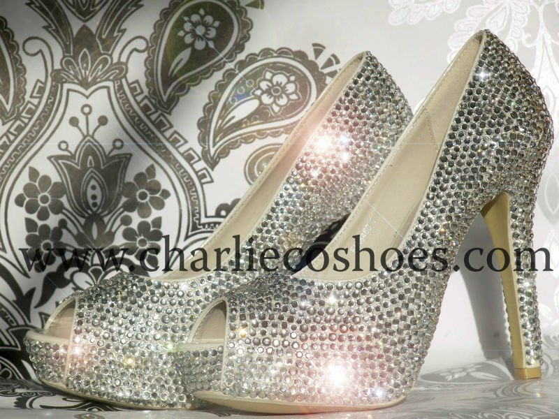 Charlie Crystal Co Crystal Shoes Co Shoes Charlie Rhinestone Rhinestone Co Charlie rxgrwZ8Upq